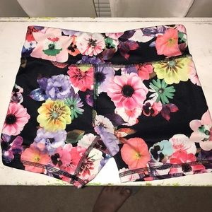 Old navy active floral shorts